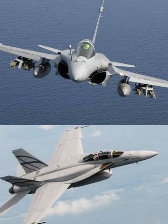 F/A-18 vs Rafale which fighter is suitable for Indian Navy ? - Full
